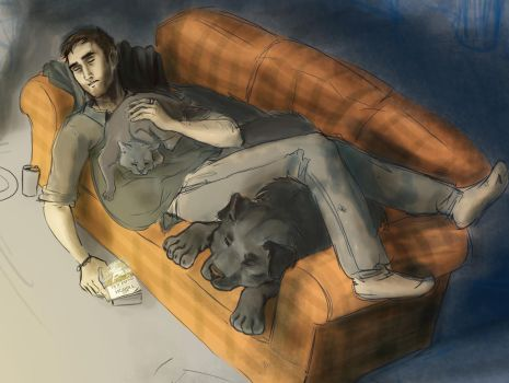 Roommates : the Dresden Files by melody-lu