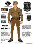 Mitch Winters, Chief of Security by Paudraic