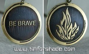 Divergent Dauntless pendant amulet by TimforShade