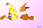 Gift : a love of PikaLuce' by JackFrost-LCDA