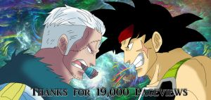 Thanks for 19,000 Pageviews by DarkAngelxVegeta