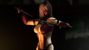 Mileena Wallpaper by The-Combine