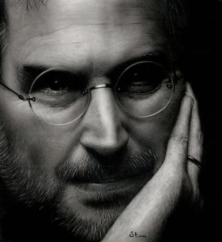 Steve Jobs by Stanbos