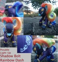 ShadowBolt RainbowDash Custom by Tashiqua