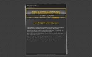 DrumConnection Website V.1 by DjN3oX