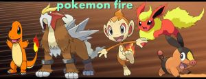 Pokemons Fire by V-a-p-o-r-e-o-n