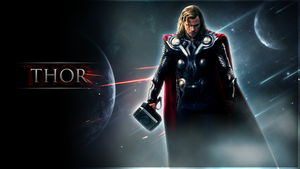 THOR Wallpaper by DieVentusLady