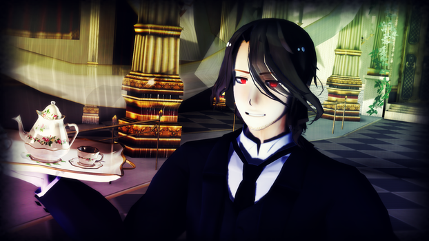 His Butler, the Frenchman by pikachu36954