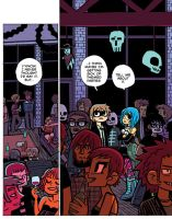 Scott Pilgrim 5 page 7 color by whoisrico