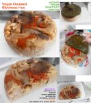 Vegan Steamed Glutinous rice by Doll1988
