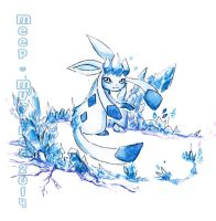 Glaceon's Frost by Meep-and-Mushrat