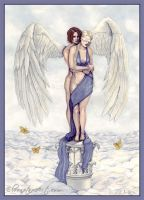 Eros And Psyche by ElvenstarArt