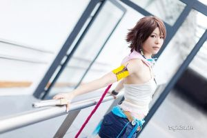 Yuna [ Gunner Ver. ] from FFX-2 - 05 by YumiCosplay
