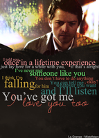 La Grange Destiel AU [2/2] Castiel quotes by mistofstars