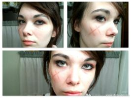 APH-Fem!Prussia Makeup Test (One) by Kimiko-Otaku
