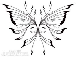 Wings Tatoo Design by joanniegoulet