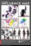 My Influence Map by ClairKruskamp