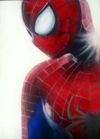 Amazing Spider-Man by bbyblueeyes