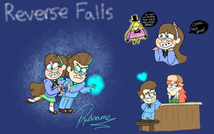 Reverse Falls by radname