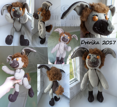 AT: Jonsi button jointed plushie by Drerika
