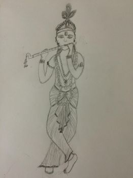 Krishna by thedevilwearstophats