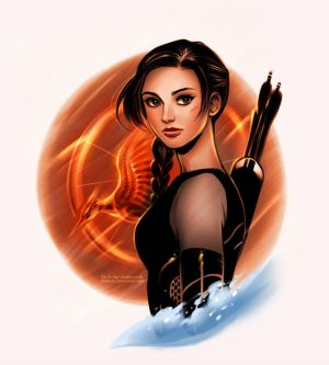 Catching Fire: Katniss Everdeen by daekazu