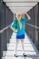 Fionna the Human by LittleRecordGirl