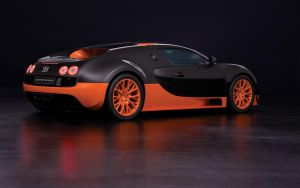 Black/Orange Bugatti (Back) by Apexx-iPredator