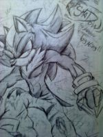 Shadow the hedgehog by Mimy by Mimy92Sonadow