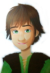 HTTYD: Hiccup by Oskar-Draws