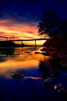American River Sunset by TchaikovskyCF