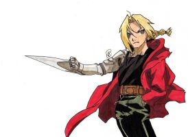 Edward Elric  #13 Request by MetalDBN