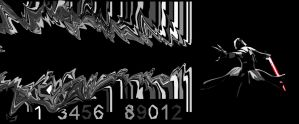 Sith Barcode Art by KXZXW