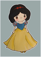 Disney QT 3.14 - Snow White by mollay