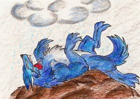 ACEO for WolfKaunass by HarpyCelene