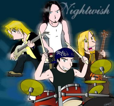 Nightwish without vocals by kirehashi