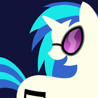 MLP-FIM Vinyl Scratch by PurpleHunterKitty