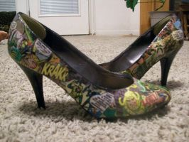Loki Pumps by Midnight-attractions