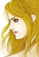 Rosalie Cullen colored by SuiGenerisX