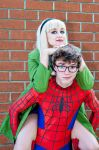 Peter and Gwen by NovemberCosplay