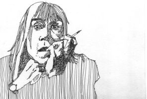 iggy pop by albakaziy