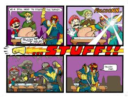 Christmas with Captain Falcon by Christhopper