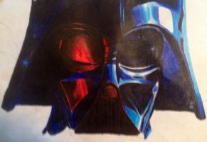 Darth Vadar in the making by SoulEaterRagnorok