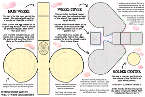 Chariot Cosplay: Wheel Template by Will-O-Wisps