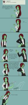 Question 23 - Genderbend Fight? by AskSerina