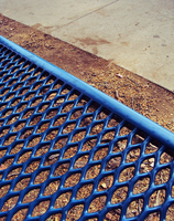 Blue Bench by Humble-Novice