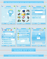 Blue Angel For W850 by cicilene