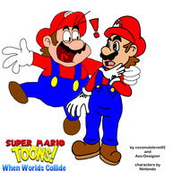Super Mario Toons:When worlds collides by Aso-Designer