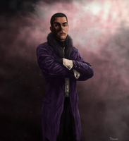 character commission painting by thesadpencil