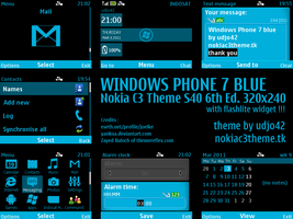 Windows Phone 7 Blue by udjo42